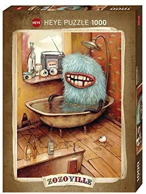 Puzzle ZOZOVILLE - Bathtub 1000 Pièces