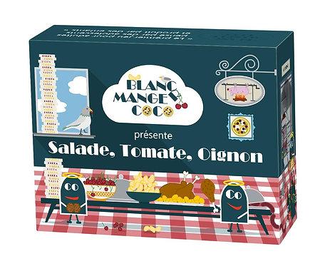 BLANC MANGER COCO Salade, Tomate, Oignon