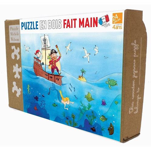 Puzzle Michèle Wilson - Les Pirates 24 P