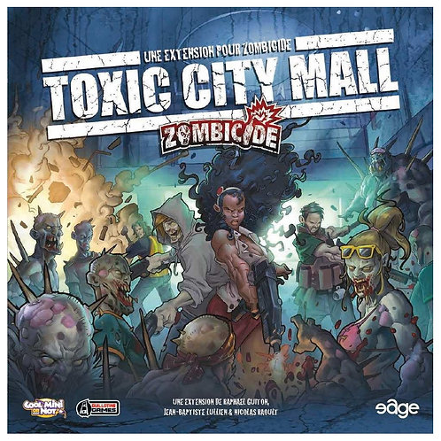 ZOMBICIDE Extension : Toxic City Mall