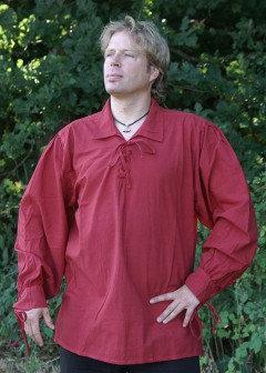 Chemise Médiévale - Rouge