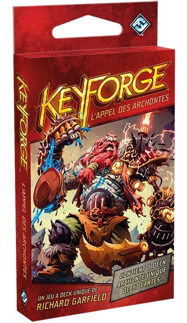 Keyforge  l'APPEL des ARCHONTES- Deck