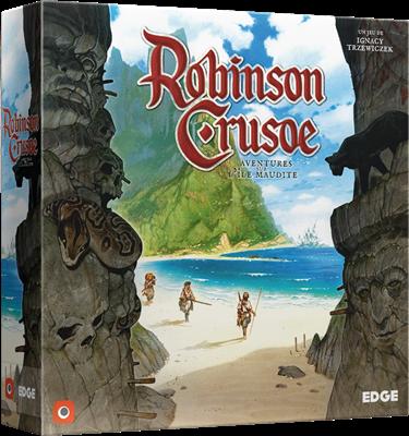 ROBINSON CRUSOE Aventures sur l'Ile Maudite