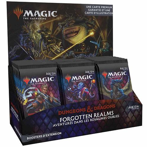 MAGIC: Boîte de 30 Boosters d'Extension D&D Forgotten Realms FR