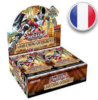Yu-Gi-Oh!: Boîte de Booster Foudre Amplifiée