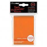 50 Protections Individuelles de Carte Ultra.Pro - Orange