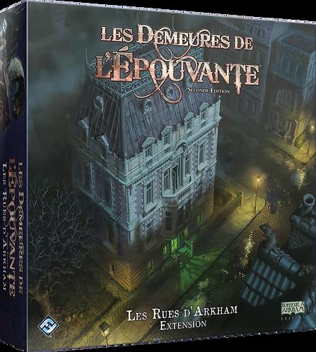 LES DEMEURES DE L'EPOUVANTE Seconde Edition : Les Rues d'Arkham