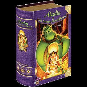 ALADIN et la Lampe Merveilleuse -Livre conte