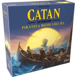 CATAN - PIRATES ET DECOUVREURS