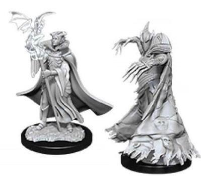 D&D Figurines CULTISTE & DEMON (Cultist & Devil)