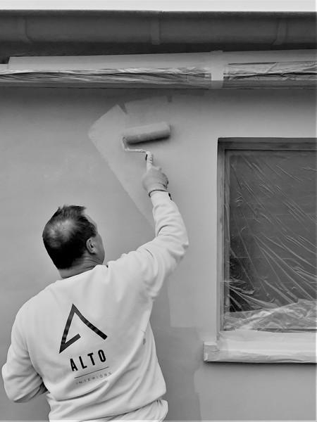 AMBER schilderwerken in actie