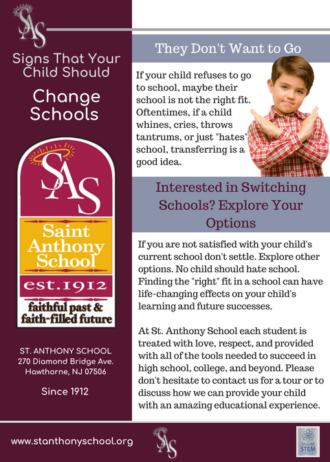 4 Signs that You Child Should Change Schools