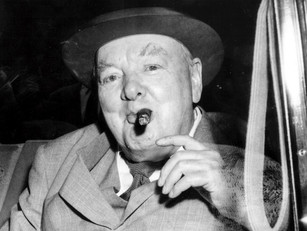 Winston Churchill's Cigar Butt Up for Sale
