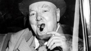 Winston Churchill's Cigar Butt Up for Sale
