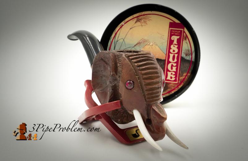 Elephant with Tsuge