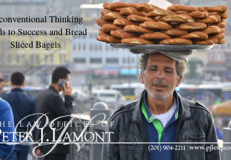 Unconventional Thinking Leads to Success and Bread Sliced Bagels