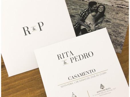 Convite de Casamento - R&P