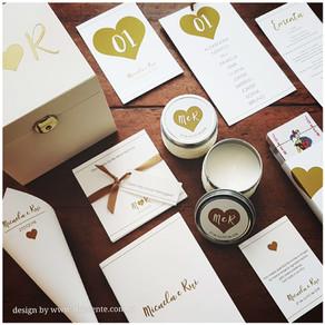 Crie a identidade visual do seu casamento | Diferente