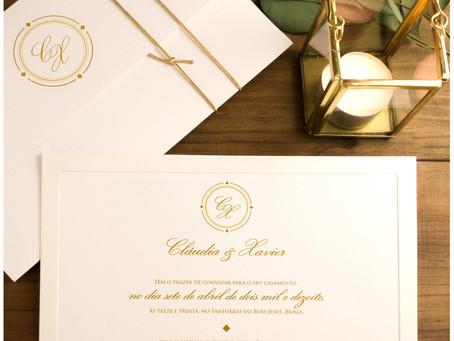 Convite de Casamento - Classic