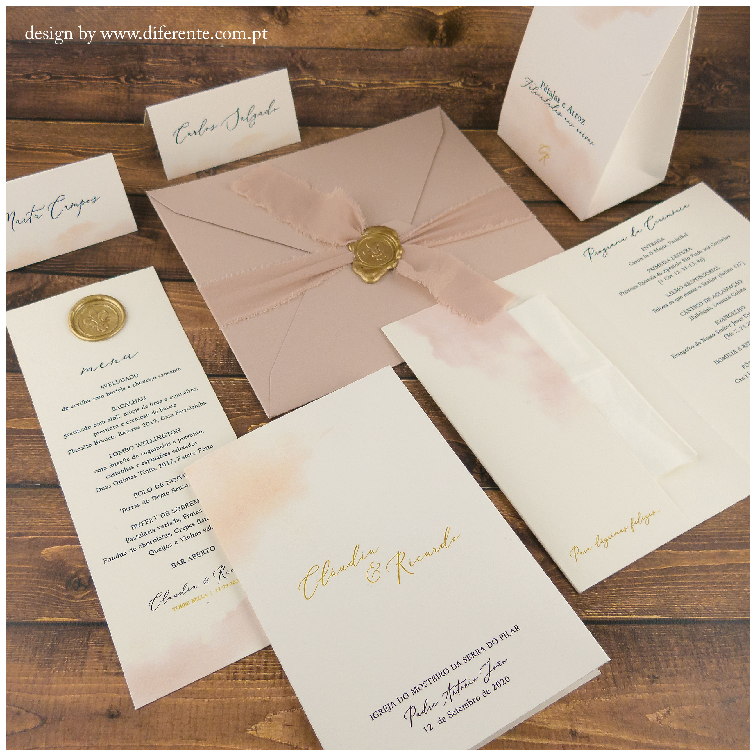 Light Pink - Stationery