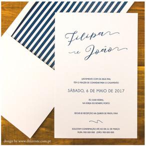 Convite de Casamento - English