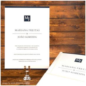 Convite de Casamento - M&J