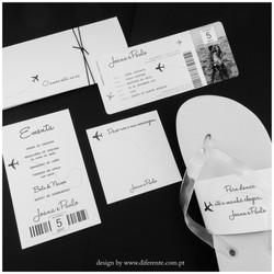 White Ticket - Stationery