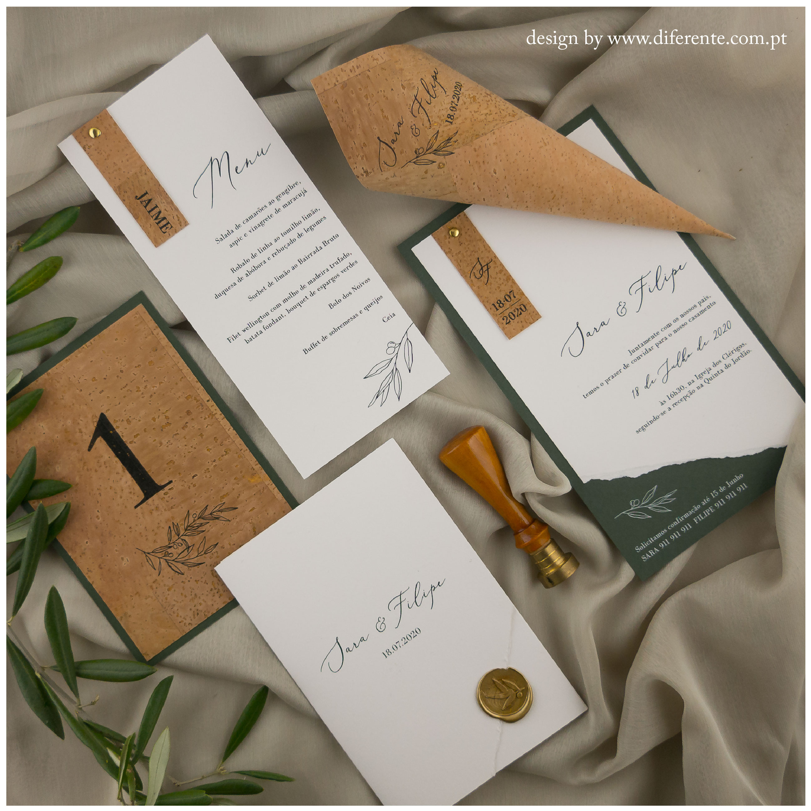 Green Cork - Stationery