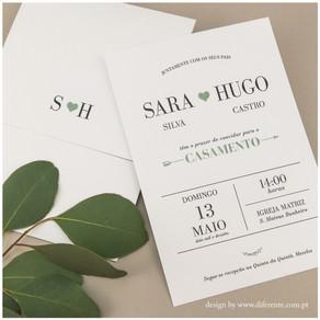 Convite de Casamento - Arrow