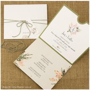 Convite de Casamento - Inês