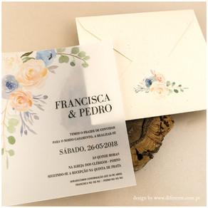 Como criar um convite simples de casamento?