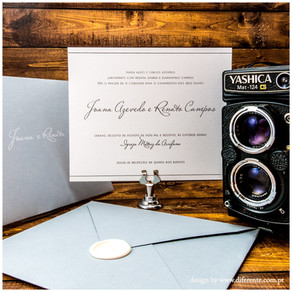 Convite de Casamento - So Simple