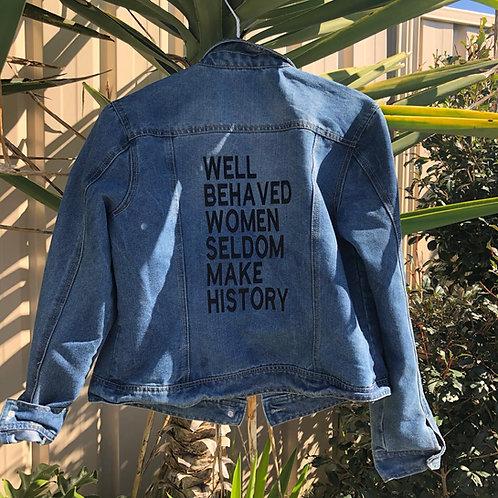 SOLD OUT Size 12 #Reloved Blue Denim Jacket