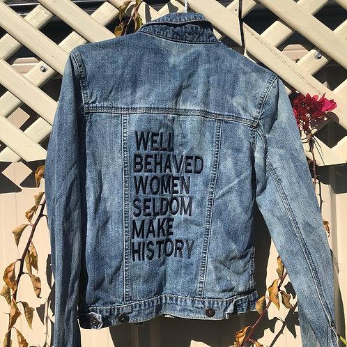 Size 8 #Reloved Denim Jacket
