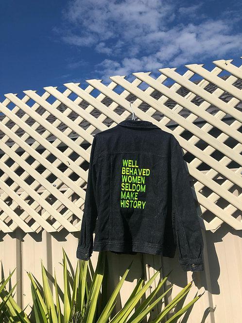 Size 14 #Reloved Denim Jacket