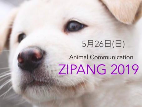 ZIPANG 2019 出店のお知らせ