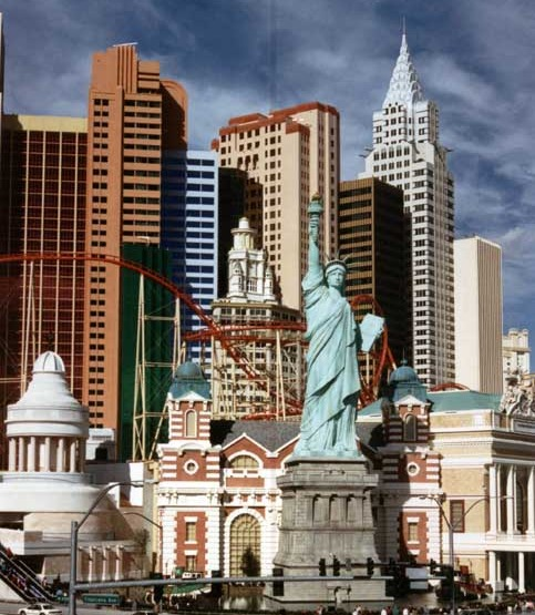 Themed Environments New York New York Las Vegas