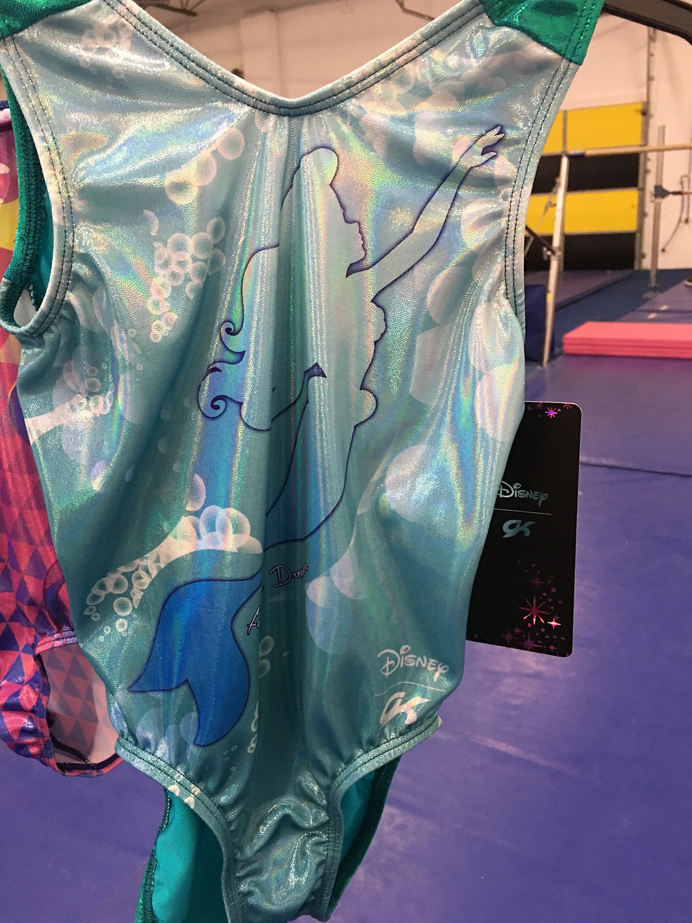 Learn some aerials dressed like Ariel.