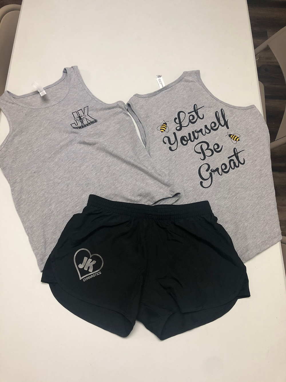 We have small medium and large sizes in youth! Come in and grab your set today!