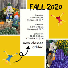 New classes added to our fall schedule!