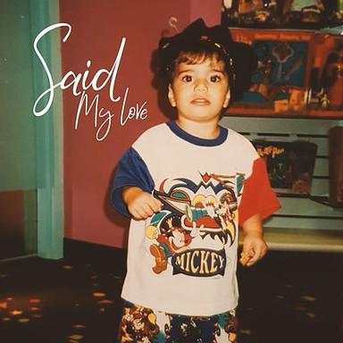 My Love / SAID 2020