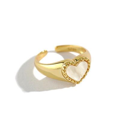 Chunky Ring Heart