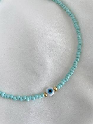 Halskette Evil Eye Turquoise