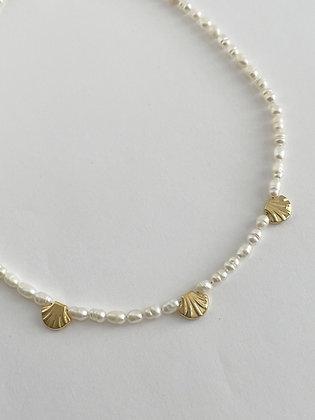 Perlenkette Amalfi