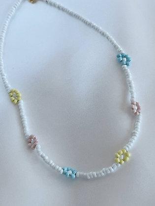 Halskette Pastel Daisies