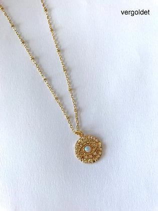 Halskette Eye Opal Stone