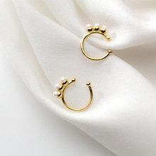 Ear Cuff Pearls