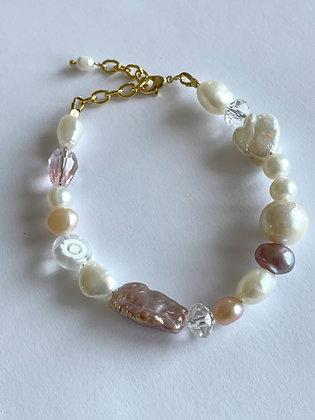 Perlenarmband Pinky Pearls