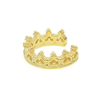 Ear Cuff Heart Crown