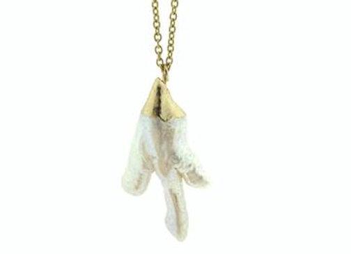 Halskette Fresh Branch Pearl